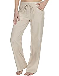 76bf4d57dab36 INSIGNIA Ladies Womens Linen Casual Trousers Bottoms Size 10-18