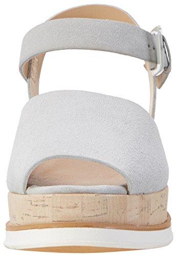 PEPEROSA 8501, Sandales Compensées femme Grau (Perla)