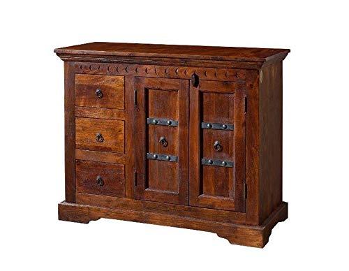 MASSIVMOEBEL24.DE Kolonialstil Kommode Akazie massiv Möbel Oxford #408