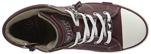 Mustang Damen 1146-508 High-Top Rot (55 Bordeaux)