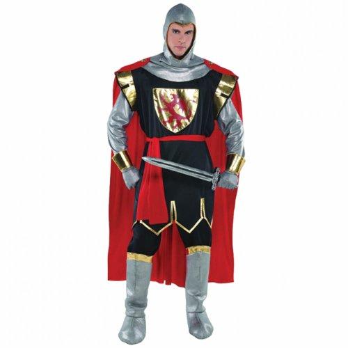 Komplette Mittelalter Kostüm - Christy 's mutiger Kreuzritter für Erwachsene
