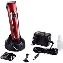 Máquina de acabados profesiona Hair clipper Albipro 2845 roja