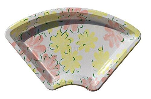 Black Temptation Set von 50 Einweg-Fan-förmigen Sushi-Tray Sashimi Box mit Deckel [D] Black Sushi Tray