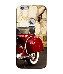 PrintVisa Life is A Journey 3D Hard Polycarbonate Designer Back Case Cover for Apple iPhone 6 (Logo View Window Case)