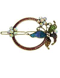 Anuradha Art Multi Colour Very Classy Trendy Designer Hair Accessories Clip Hair Pin For Women
