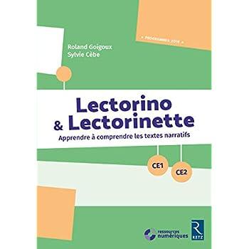 Lectorino & Lectorinette (+ CD-Rom) - CE1-CE2