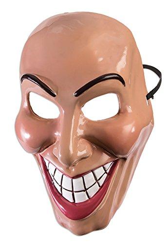 FORUM Novelties X79188 Evil Grin Maske weiblich, Damen, Mehrfarbig, Einheitsgröße