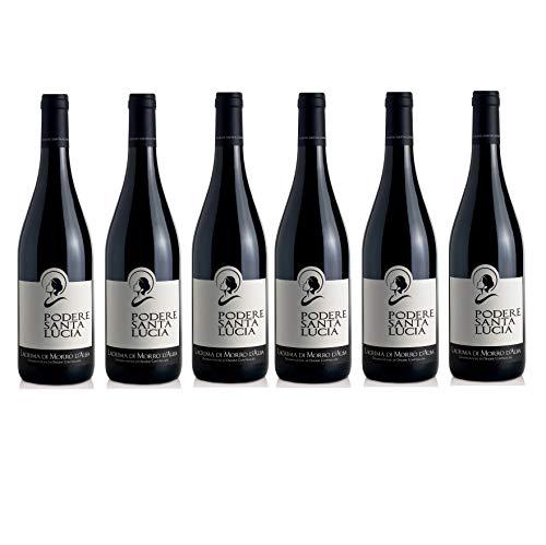 Vino Rosso Lacrima Di Morro D'Alba | 2017 | Podere Santa Lucia - 6 Bottiglie