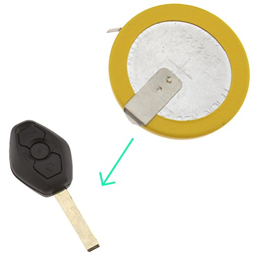 1 x Rechargeable LI-ION Battery LIR2025 For BMW Key FOB 3 5