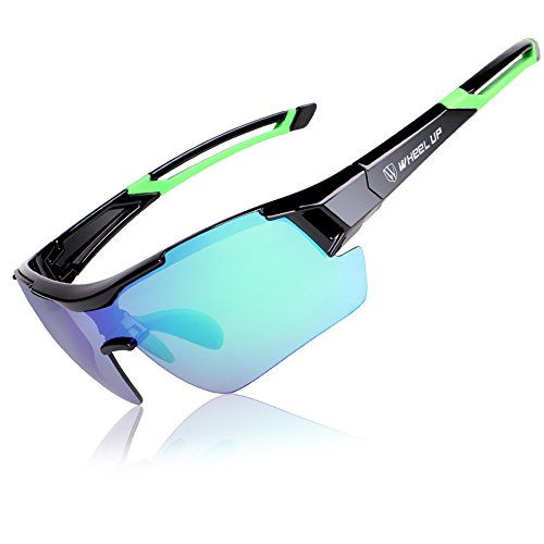 VRTUR Metall Frame Runde Brille Retro Metall Klare Linse Brille, Unisex, Rot, Blau, Grün Farbe, 3...