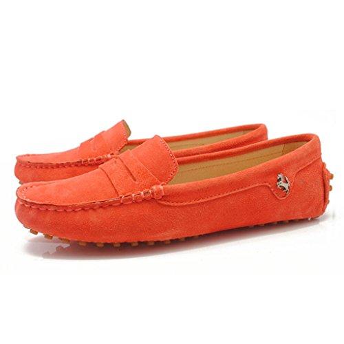 Meijili , Sandales Plateforme femme Orangered