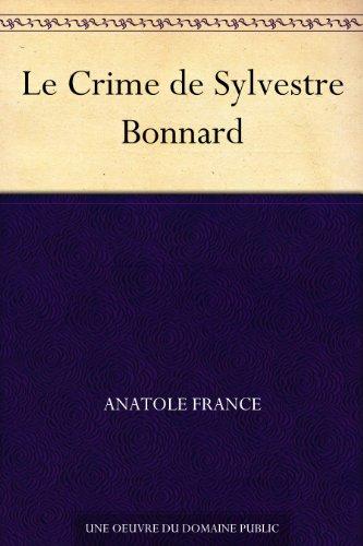 Couverture du livre Le Crime de Sylvestre Bonnard