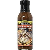 Walden Farms Barbecue Sauces (Salsas Barbacoa) 340 g - Sabor - Thick & Spicy