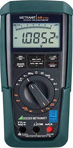 Multímetro Portátil Digital Gossen metrawatt metrahi X-TRA tarado segundo dakks Cat III 1000V CAT IV 600V Disp