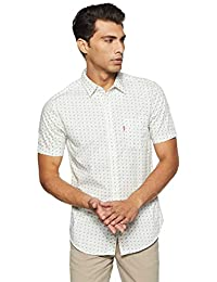 Levi's Men's Printed Slim Fit Casual Shirt