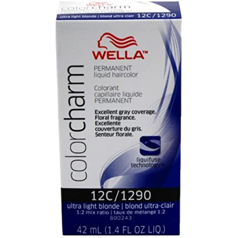 Wella Color Charm Liquid Permanent Hair Color 1290/12C Ultra Light Blonde by Wella