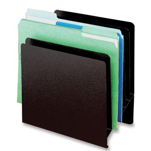 Buddy Produkte Classic 6Pocket Slant Datei, Stahl, 13,3x 26,7x 25,1cm, schwarz (0576–4) (Box-datei Classic)