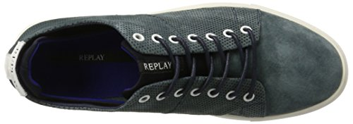 Replay Greybull, chaussons d'intérieur homme Bleu Marine