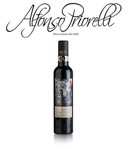Alfonso priorelli - olio di oliva extra vergine dop umbria colli assisi e spoleto - 0,500 l - cartone da 12 bott.