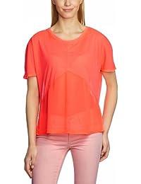 Object Damen T-Shirt 23013704 HAPPY SS TOP, Rundhals