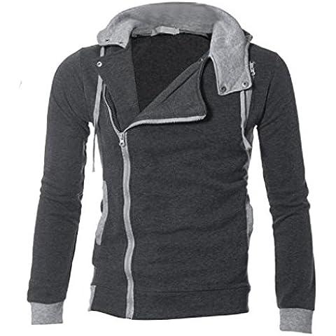 OverDose Postal caliente de los hombres para arriba sudadera con capucha Sudadera con capucha Slim Fit Abrigos Tops Outwear