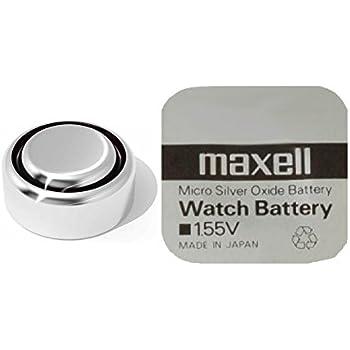 deux Pile bouton maxell 373/SR916SW