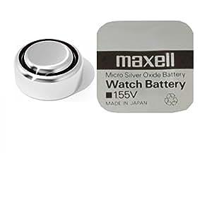 Maxell 394 SR45 SR936SW Uhrenknopfzelle Silberoxid Low Drain 3,6x9,5 (HxØ/mm) 1,55V im Blister