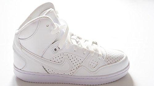 NIKE SON FORCE Kinder Sneakers, Weiß Unisex Kinder Turnschuhe Weiß