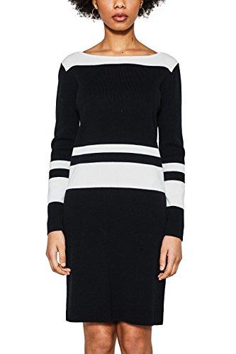 ESPRIT Collection Damen 018EO1E001 Kleid, Schwarz (Black 001), Small