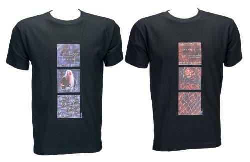 Herr-der-Ringe-Kult-T-Shirt-Doppelpack-GandalfOrcs