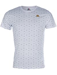 Kappa - T-shirt - Homme blanc blanc M