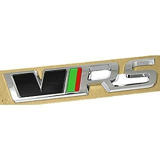 Skoda 5E0853687SNTA Emblem RS 245 Edition Schriftzug Tuning Logo Heckklappe