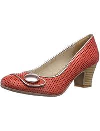 Virus 25377 - zapatos de tacón cerrados de cuero mujer