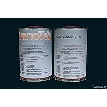 Variotex GT de 30piel adhesivo wärmeaktivierbar 1000ml pegamento pegamento pegamento Fuerza Alfombra plástico piel Oldtimer piel piel polsterei costura