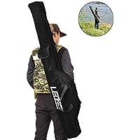 tingtin Bolsa de Almacenamiento portátil de caña Plegable caña de Pescar Bolsa de Viaje de Pesca