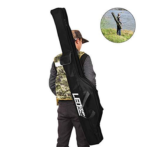 100cm 150cm Fischen Beutel Angeltasche Rutentasche Rutenfutteral Falten Große Kapazität Tragbare Angelrute Aufbewahrungstasche umhängetasche Angeln Zubehör Taschen Geräte Oxford beweglicher faltender