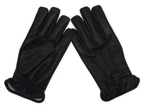 MFH Gants en cuir résistant à la coupure, Safety (Noir/S)