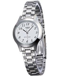 CASIO 19103 LTP-1128A-7BR - Reloj Señora cuarzo brazalete metálico blanco c3460a9fc98f