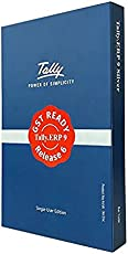 Tally ERP9 Silver With GST - Single User(CD)