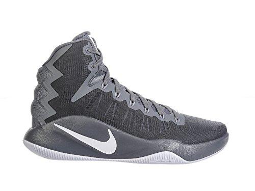 Nike 844359-011, Scarpe da Basket Uomo Grigio