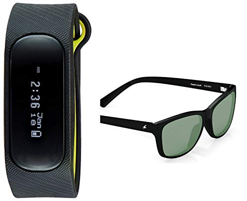 Fastrack Men Digital Black Dial & 0 0 Dial (SWD90059PP05 + P357BK1)