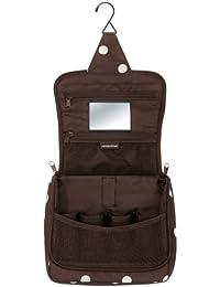 Allrounder Reise- und Sporttasche, Farbe:mocha dots;Größe:L