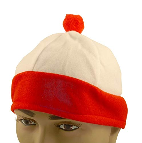 Infantil Rojo&Blanco Sombrero PERSONAJE Accesorio