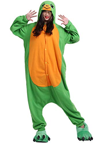 Pyjama Tier Cosplay Schildkröte Cartoonstil Animal Kigurumi Plüsch für Erwachsene ()