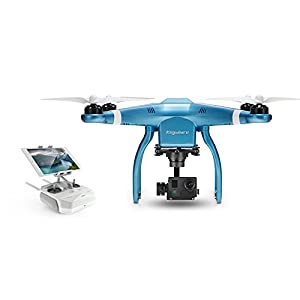 Keyshare GLINT2 RC RTF FPV Quadcopter Drone w/ 16M 4K HD Camera / 3 Axis Brushless Gimbal Blue from Keyshare