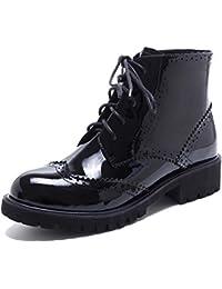 Martin Boots Botines Botas Zapatos LS080823 Otoño e Invierno Antideslizante Impermeable Moda Mujer,GJDE