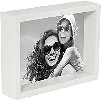 BD ART 20 x 25 cm Box Marco de Fotos, Blanco