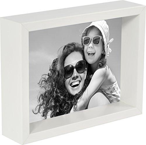 10 x 15 cm Box Bilderrahmen, Weiß