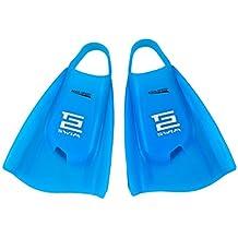 AQUA-SPEED® HIGH TECH Pinne da Nuoto lunghe (nuotata, 100% silicone, destra/sinistra piede, Brevettato, Tech2, di qualità Premium, Blau, 38/39