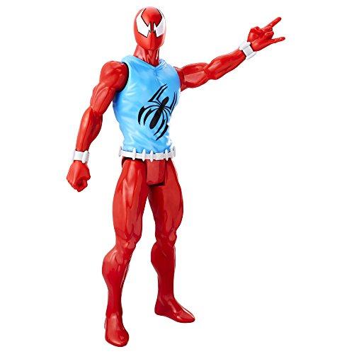 Mavel Spiderman Figur Marvel´s Scarlet Spider bewegliche Spielfigur ca 30 cmTitan Hero Serie